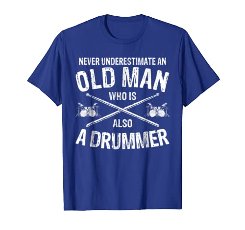 Funny Drummer T-shirt Drumming Gift For Men Dad Fathers