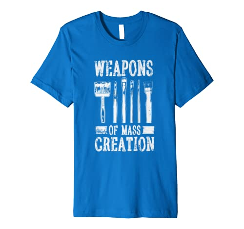 Weapons Of Mass Creation T-shirt Funny Art Tee
